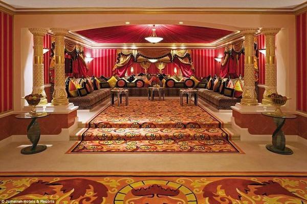 迪拜七星级酒店内部惊人,住不起只能看看