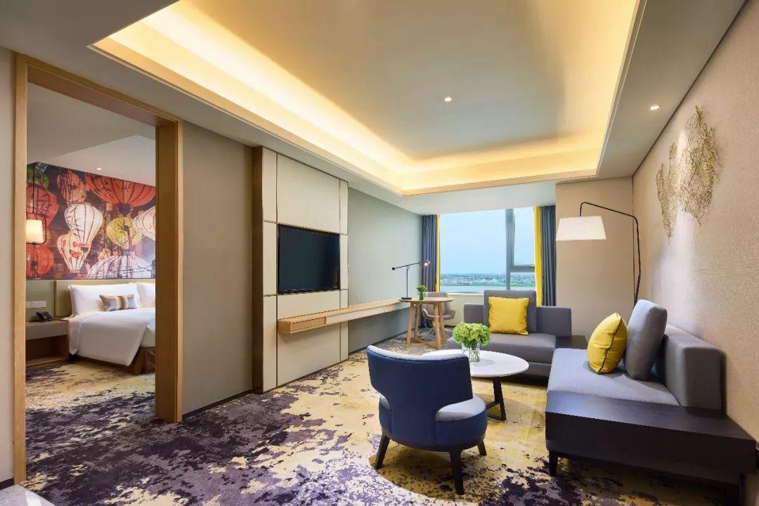 上海新开业酒店之-上海三甲港绿地铂骊酒店