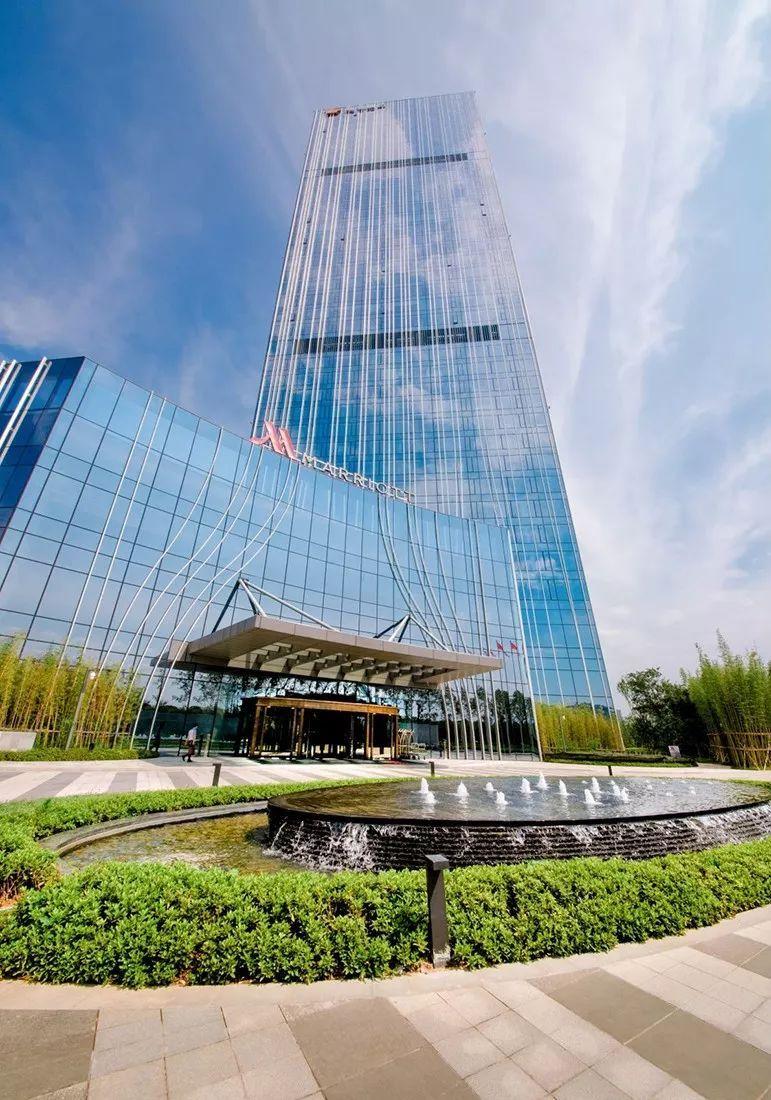 杭州临安万豪酒店,168米俯瞰半个杭州的新地标