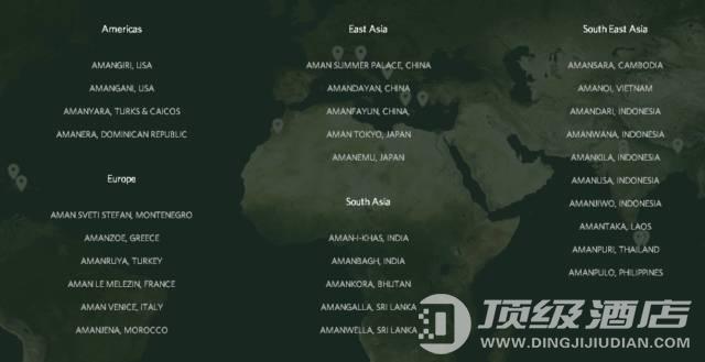 一次性看遍,全球31家安缦酒店