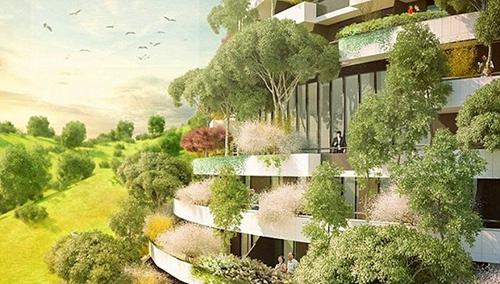 中国贵州要建一座森林酒店 与自然融为一体