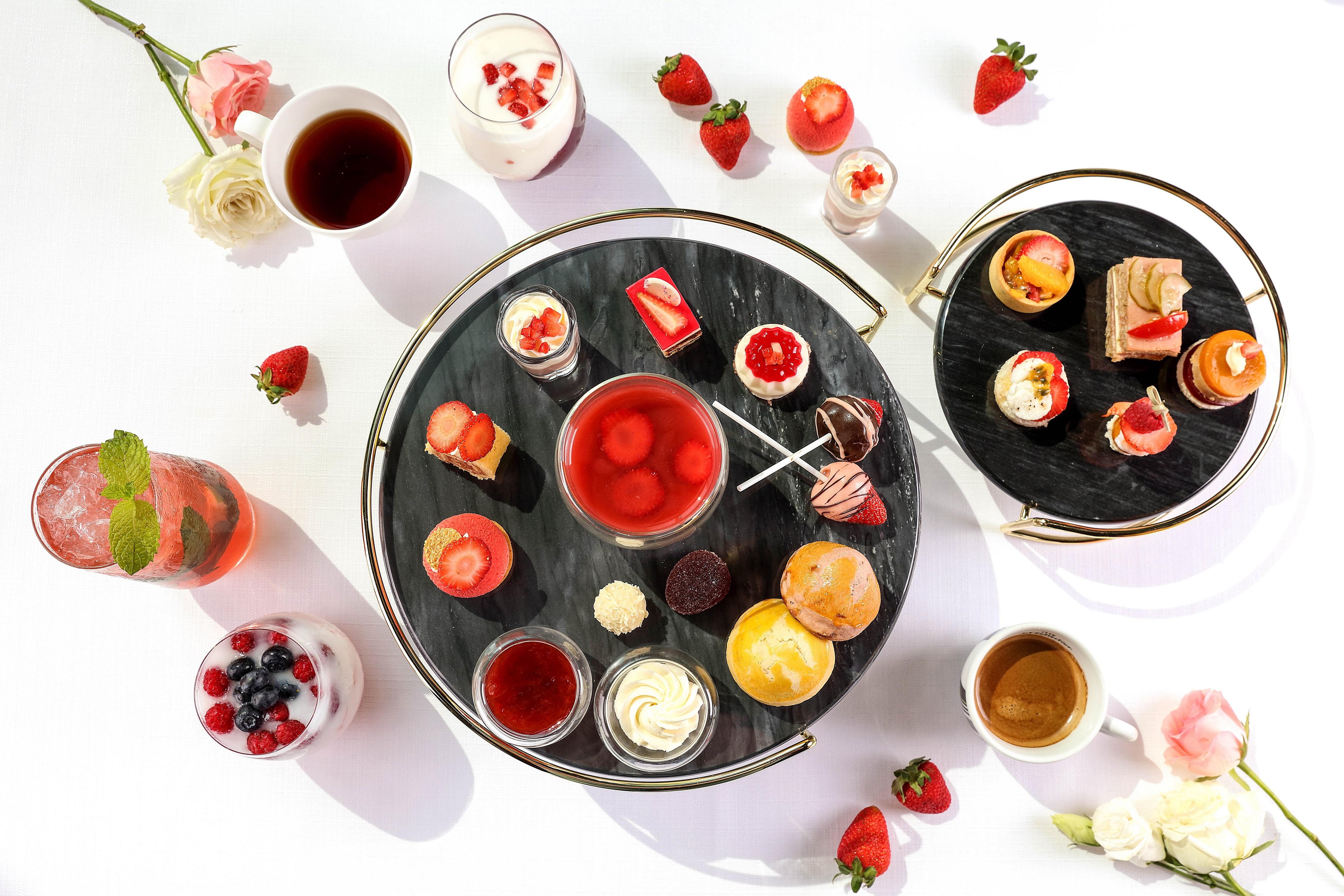 """乐享""""莓""""刻下午茶 于北京索菲特酒店尽享法式浪漫"""