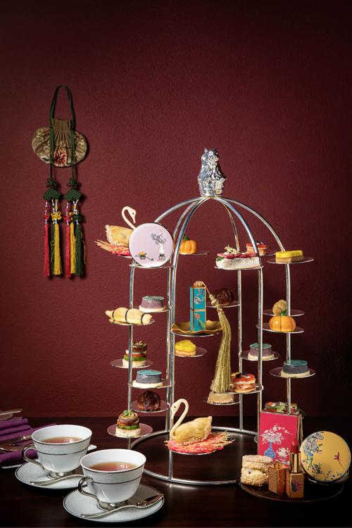 金茂三亚亚龙湾丽思卡尔顿酒店推出故宫彩妆主题下午茶
