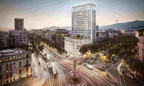 巴塞隆拿文华东方酒店管理式住宅计划2020年落成