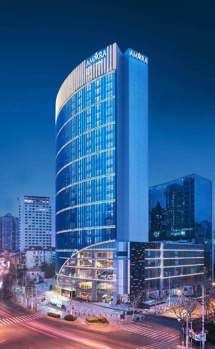 上海安曼纳卓悦酒店近日揭幕