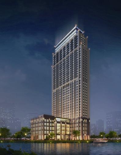 建造空中连廊直通动车站 温州这家酒店将试营业
