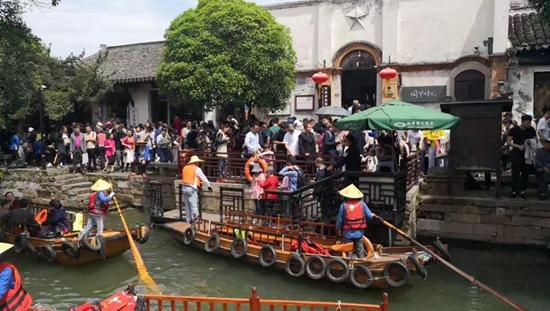 """吴江成为各地游客""""五一""""出游的水乡天堂"""