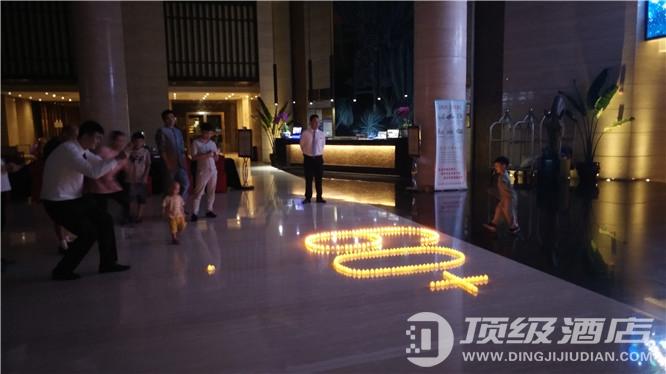 """海南新燕泰大酒店组织宾客与员工一起参与了2019年""""地球一小时""""活动"""