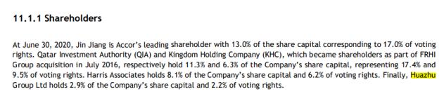 雅高Q2 RevPAR降八成,考虑裁员1000人并出售巴黎总部,华住仍持股2.9%