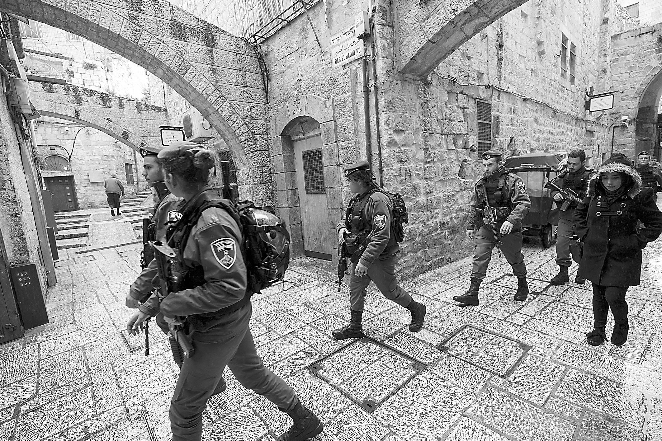 耶路撒冷 被隔断的圣城
