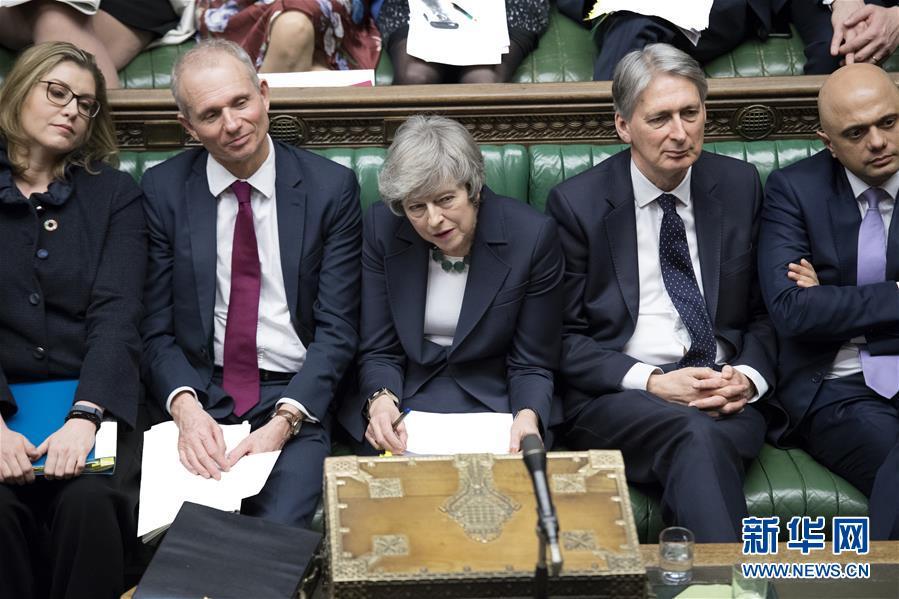 英执政党搅黄首相脱欧动议