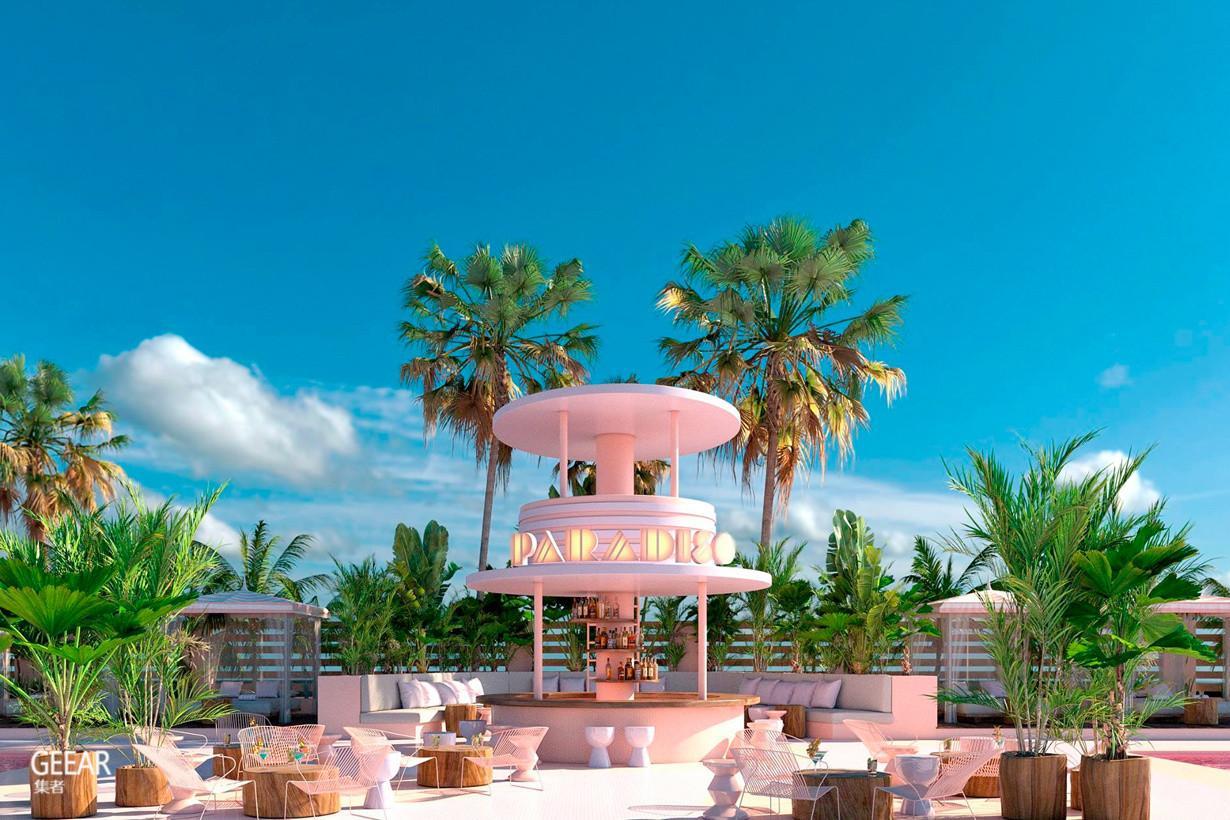 西班牙小岛的梦幻艺术饭店 美得像住进《布达佩斯大饭店》