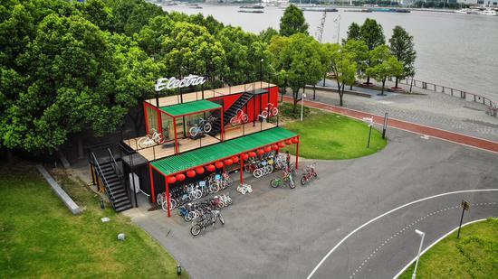 美国自行车品牌Electra旗舰店落户上海 正式开门迎客
