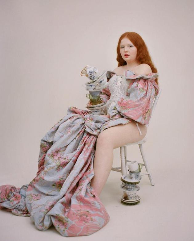 混血超模Tess McMillan