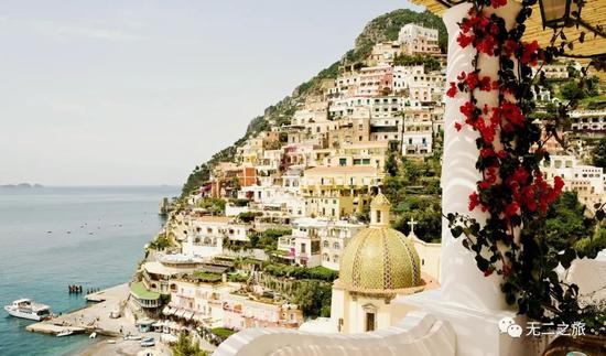 意大利八家景观酒店 大海和雪山风光看到够