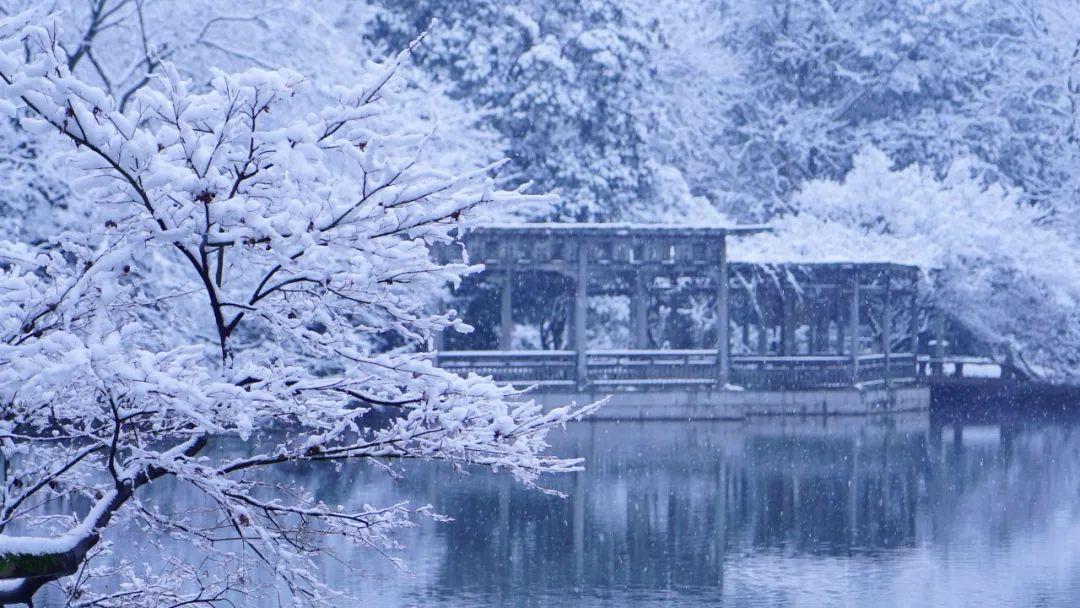 一下雪 杭州就美成了临安