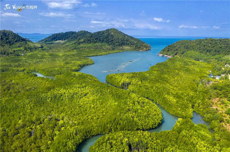 泰国SALAKKOK渔村:红树林环抱的度假天堂