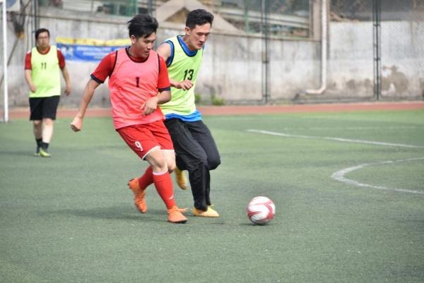 文化和旅游部直属机关足球选拔活动举办