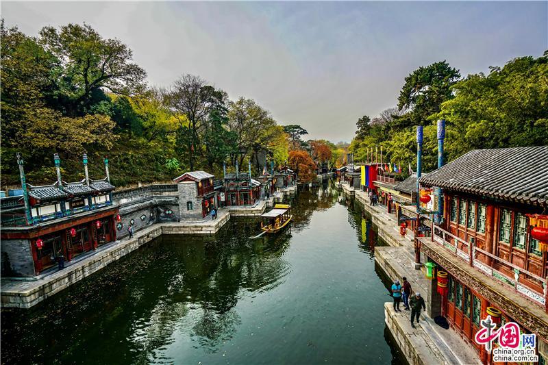 """颐和园中苏州街 现存的中国古代""""宫市""""孤品"""