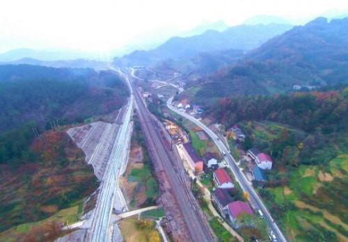 阳安铁路增建二线勉县至宁强段开通