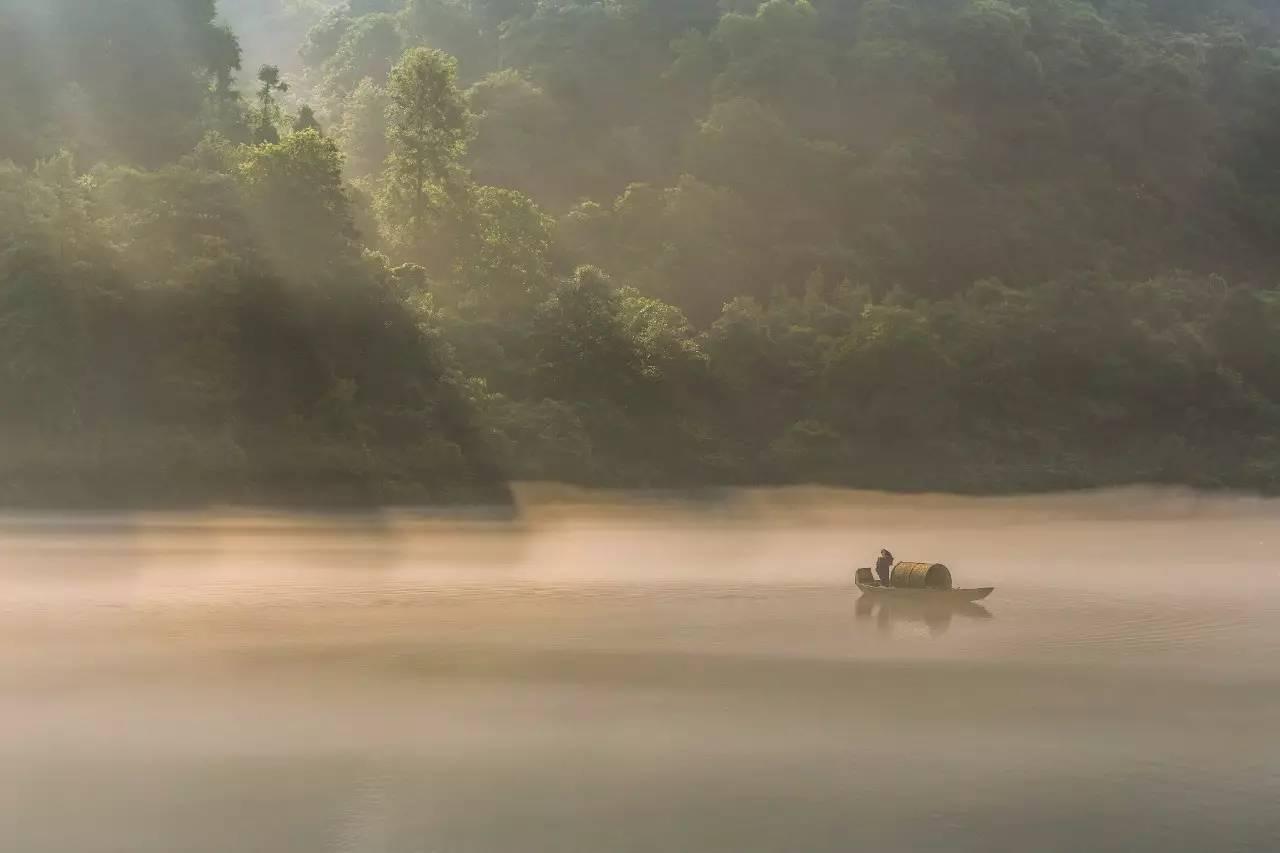 湖南这个仙境般的低调小城 拥有中国最唯美的日出