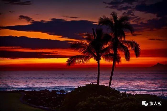 去夏威夷 上天下海飞跃彩虹边端