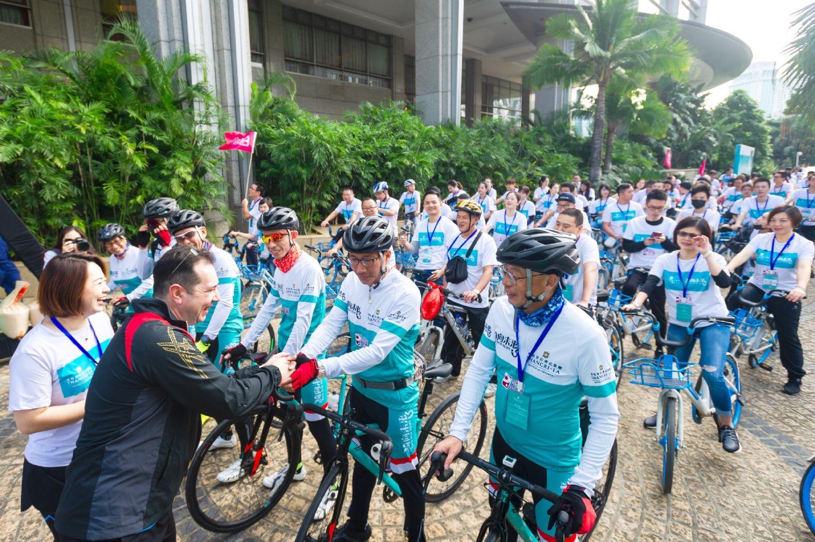 """香格里拉酒店集团""""骑向未来3""""公益骑行活动 福州站圆满落幕"""