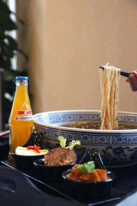 关中美食空降天津海河假日酒店