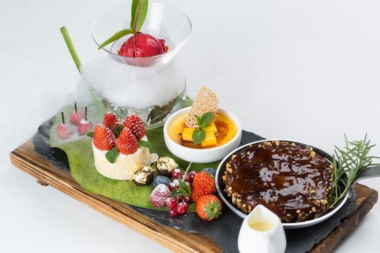 赴一场云端盛宴 北京亮餐厅推出系列菜单新品