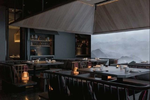 风雅悠然重庆山水格调餐厅