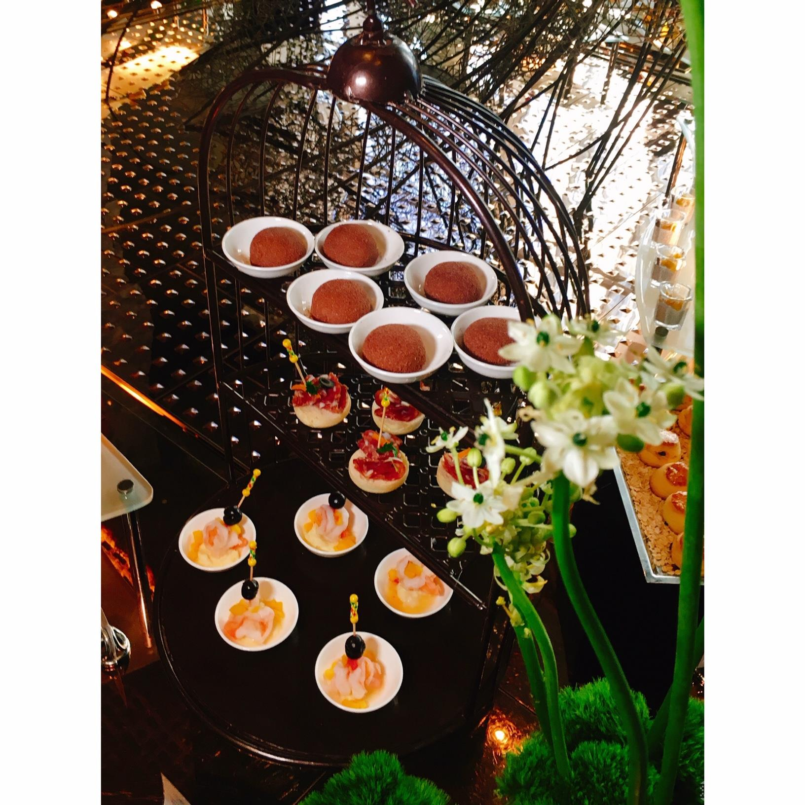 北京康莱德酒店大堂酒廊推出周末自助下午茶