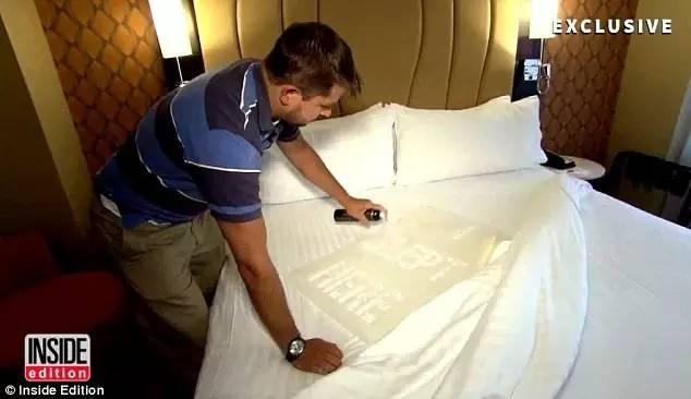 万豪、洲际都上黑榜!一项卧底实验令人震惊 原来五星级酒店都那么脏