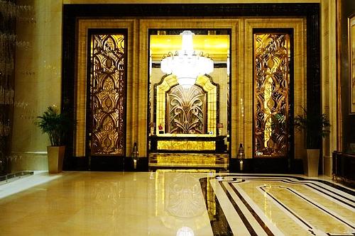 """号称""""我国首家七星级酒店""""的武汉万达瑞华酒店真容"""
