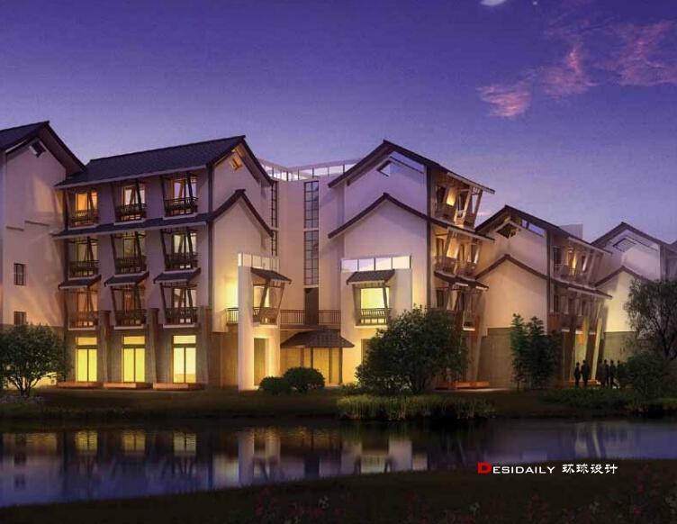 杭州西溪悦椿度假酒店设计