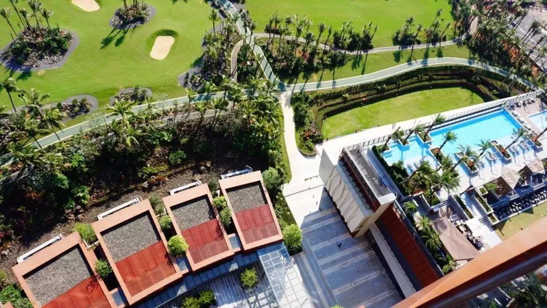 海口丽思卡尔顿酒店景观设计