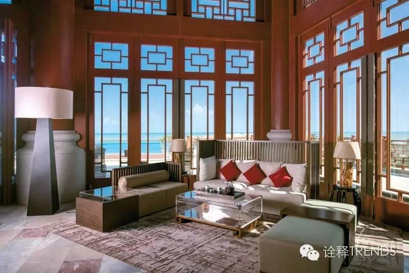 海口万豪酒店:驻足海边的时尚中国风