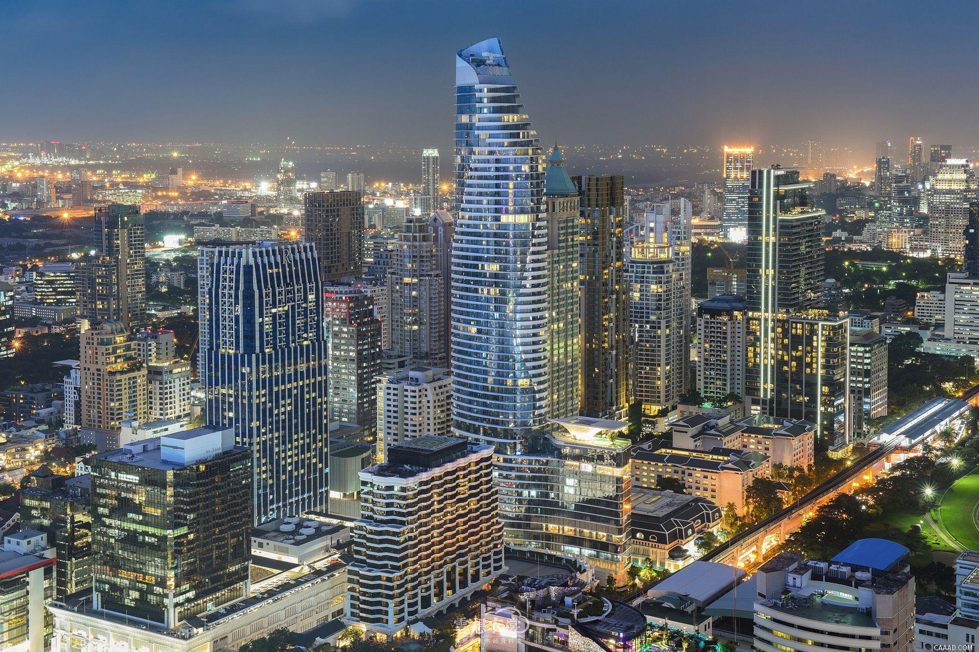 曼谷华尔道夫酒店效果图摄影实景照片JPG
