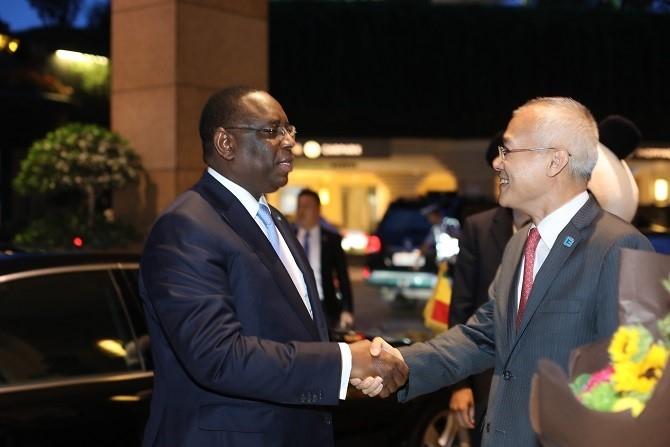 成都香格里拉大酒店受到塞内加尔总统马基·萨勒的称赞