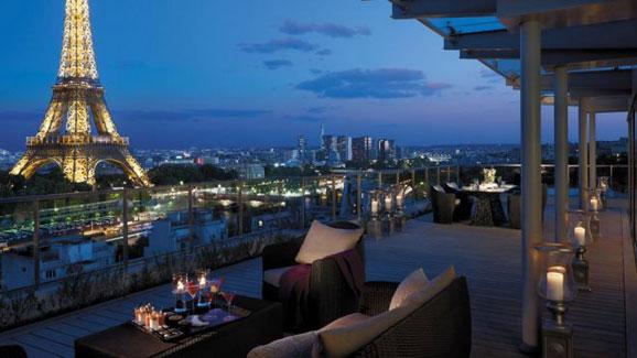 法式浪漫 美到让人不想出门的法国酒店