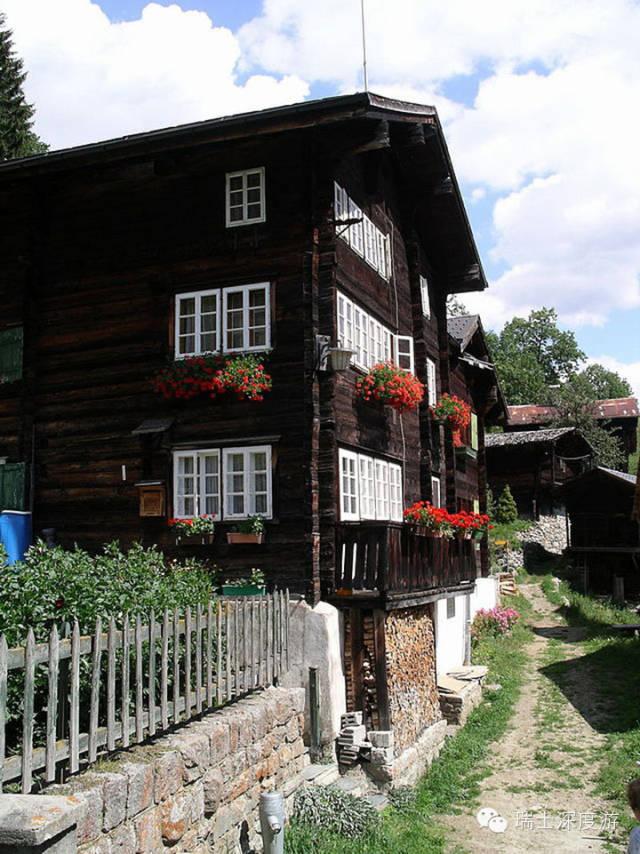 诞生奢华酒店始祖的瑞士村庄