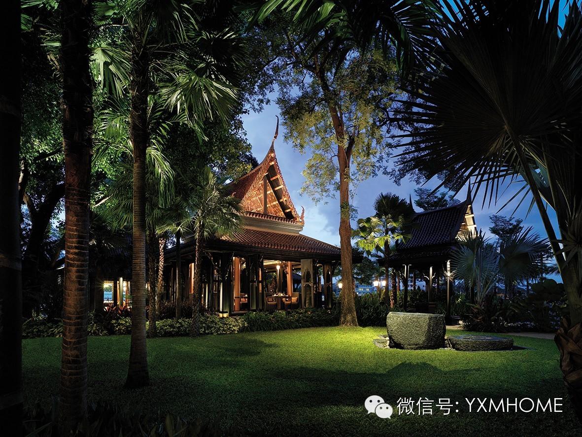 曼谷香格里拉酒店的颜色文化