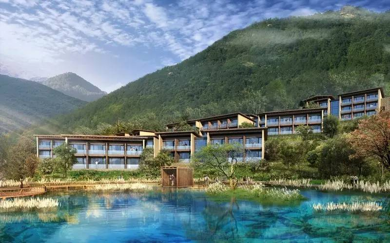 藏文化山地体验度假酒店——九寨鲁能希尔顿度假酒店即将盛大开业
