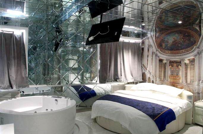 太原那些让人羞羞的主题酒店,让滚床单都有情调
