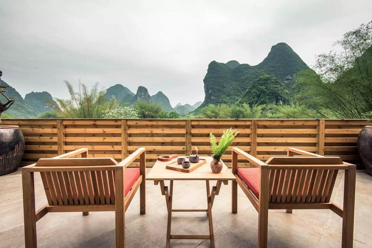 山为魄水为魂,桂林这10家最美腻的酒店,国庆节你睡了吗?