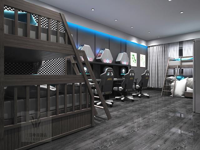 酒店转型改造粤塔电竞主题酒店,广东电竞酒店未来发展趋势!