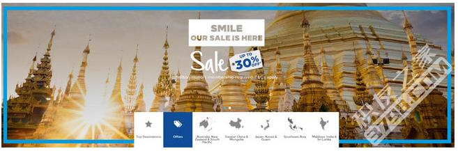 希尔顿活动:18年5月东南亚、东亚酒店促销,全年可订